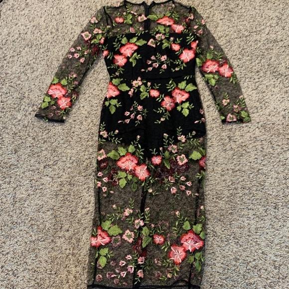 ASOS Dresses & Skirts - Asos Floral Dress Size 4